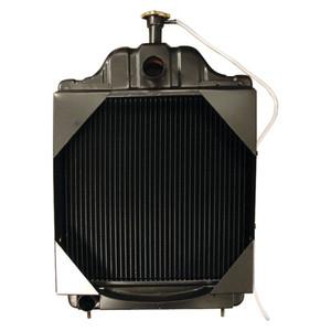 New Radiator For Case International Harvester 580C Backhoe Loader