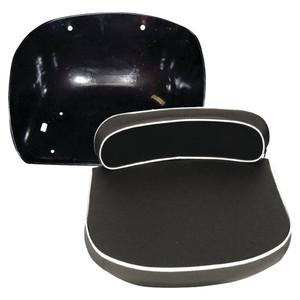 New Pan And Black Cushion Seat Set For Massey Ferguson 135, 150