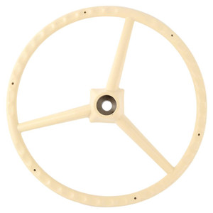 Steering Wheel - Creme Allis Chalmers for D17 D15 D12 D10 D14 D19 Gleaner F E3