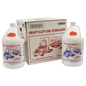 051-607 Case of Lucas Oil Heavy Duty Oil Stabilizer 4 Btls/1 Gal