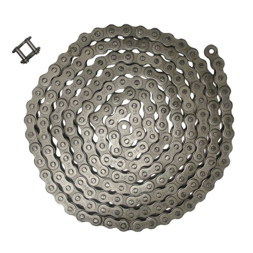 NEW Roller Chain Rivet Type (10ft) 50 size Pitch-0.625