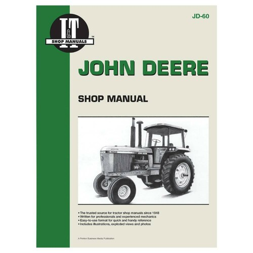 New Service Manual For John Deere Tractor 4055 4255 4455 4555 4755 4955