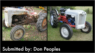 Before and After Tractors