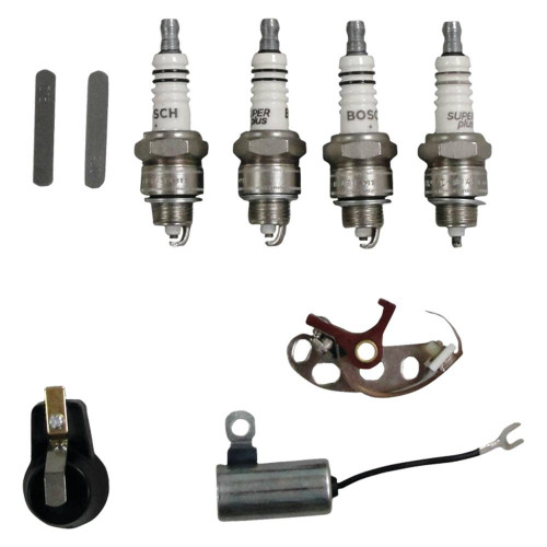 NEW Ign kit (inc. points cond rotor plug) for Ford Tractor