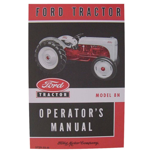 owners manual  ford tractor  complete tractor