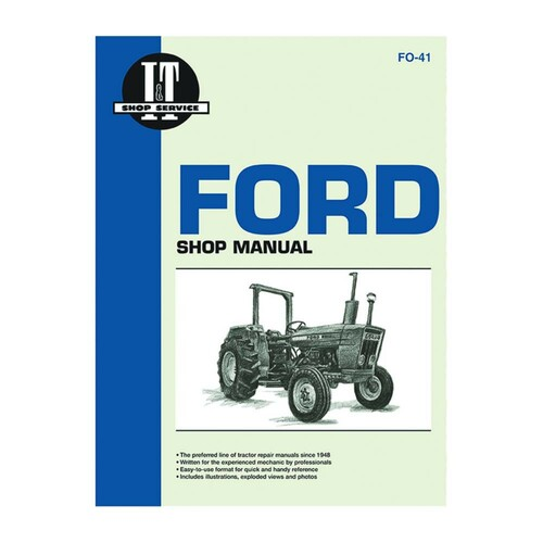 service manual ford new holland tractor fo 41 2310 2600. Black Bedroom Furniture Sets. Home Design Ideas
