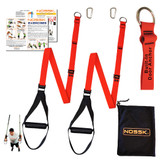 NOSSK TWIN PRO Suspension Bodyweight Fitness Strap Trainer