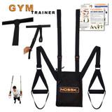NOSSK GYM Suspension Bodyweight Fitness Strap Trainer