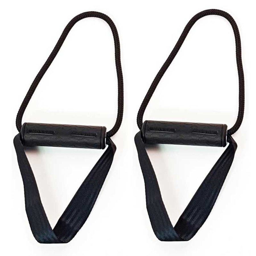 Silicone Rubber Handles for 1.5in Suspension Fitness Body Weight Trainers