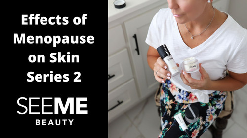 Effects of Menopause on Skin, Series  2:  Hyaluronic Acid Moisturizer