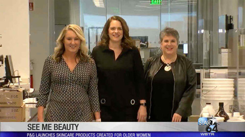 Local Channel 12 SeeMe Beauty: New Menopause Skin Care Products Founded by Women