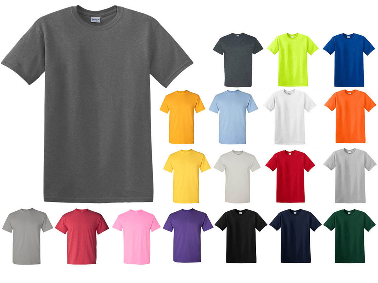 bulk t shirts gildan cotton t shirt supplier