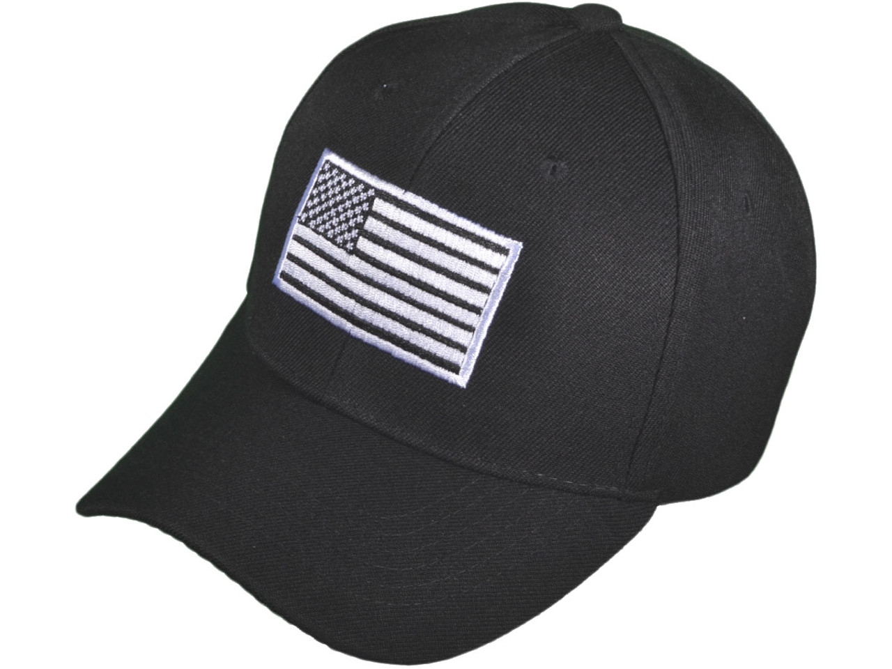 fd540d2db6c Wholesale BK Caps Patriotic Embroidered White USA Flag Baseball Hats ...