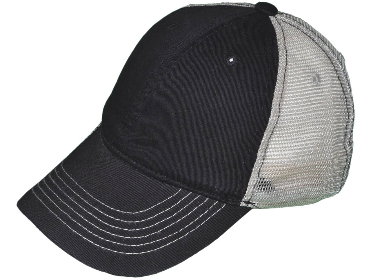Wholesale Unstructured Trucker Hats - BK Caps Low Profile 6 Panel ... c59c5835deb