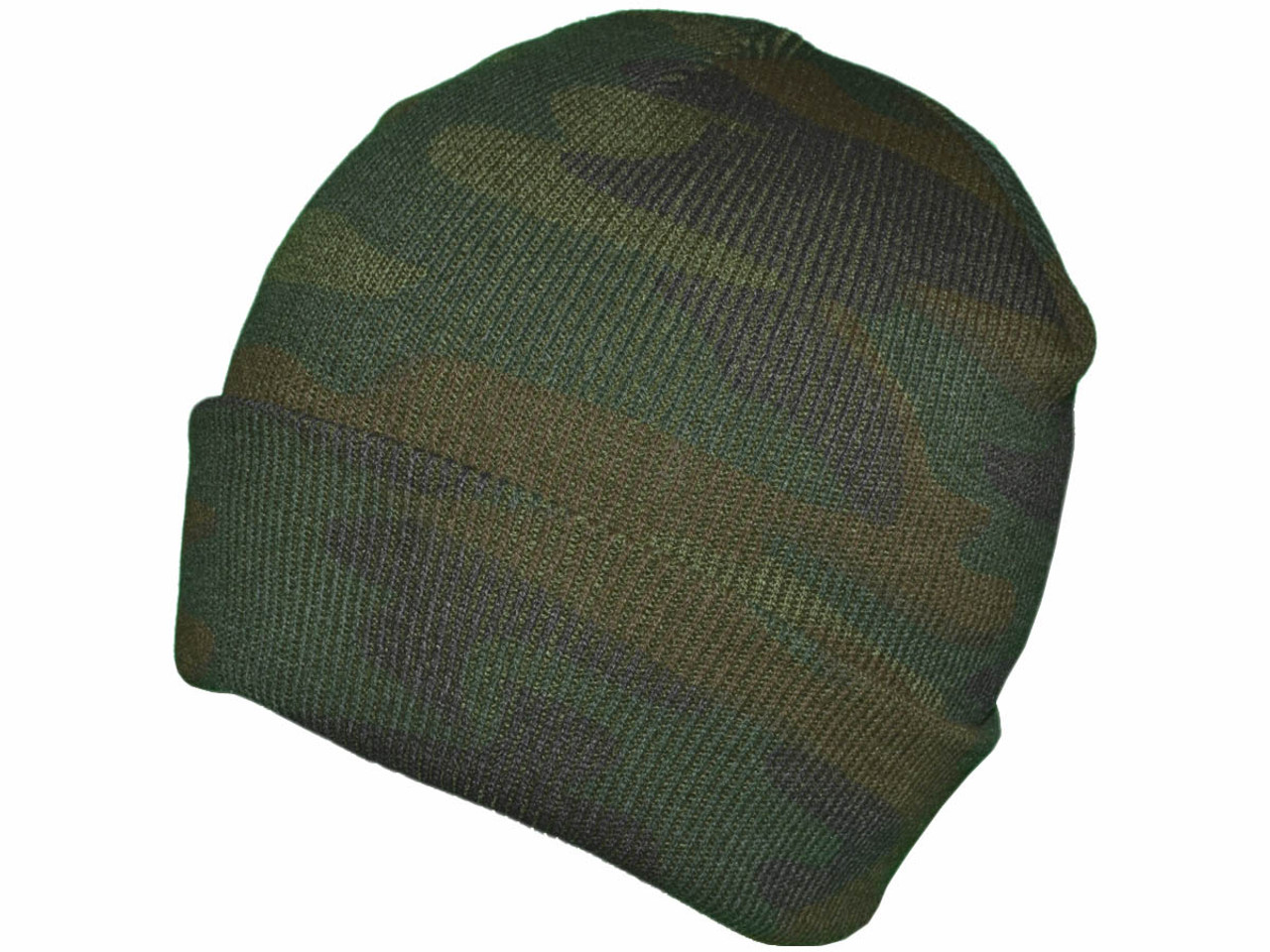 851f4afea Camo Beanies - Winter Plain Long Knit Hat Skull Toboggan Stocking Caps  **SNUG FIT** - 5233
