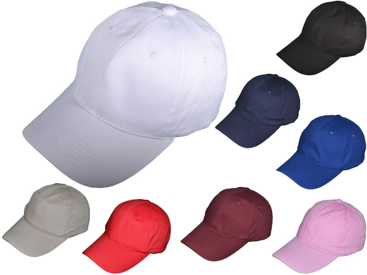 Wholesale NEW BK Caps Low Profile Brushed Cotton Blend Twill Polo ... d7e823506ff
