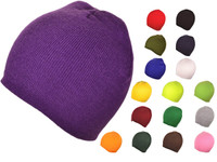 5db12968 Winter Plain/Blank Short Beanies Knit Hats Skull Toboggan Stocking BK Caps (Choose  your color) - 3493