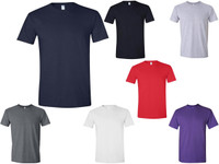a66142c5e7f8f T‑Shirts Gildan 4.5 oz Soft Style Cotton G64000 Adult Unisex (7 Colors) -  5064