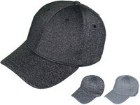 f855804972b Melange Baseball Hats - Structured mid Profile BK Caps with Velcro Closure  (3 Colors Available) - 5225