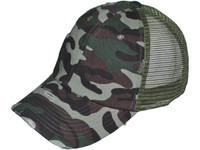 c10b6768fcc Camo Vintage Trucker Hats - Unstructured Cotton Low Profile BK Caps - 5229