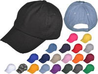 479f323a35930d Vintage Dad Hats - Low Profile Unstructured Washed Distressed Cotton Twill  Polo BK Caps Velcro Closure (21 Colors) - 21872