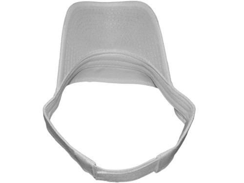 Wholesale Cotton Blank Sun Visors Hats (White)Blank Sun Visor Hats ... 435aeaf4d47