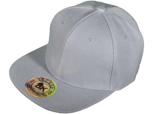 10d57951b ... Blank Snapback Hats - BK Caps Flat Bill Plain Vintage Snapbacks with  Same Color Underbill ...