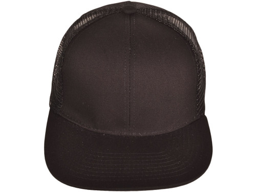 24bec63b075366 ... Flat Bill Trucker Hats - BK Caps SnapBack Mesh (8 Colors Available) -  21507 ...