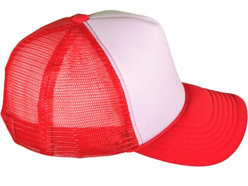 19dcc5eed2b ...  Dozen Pack  Foam Front Trucker Hats - BK Caps Mid Profile Polyester  Mesh Back