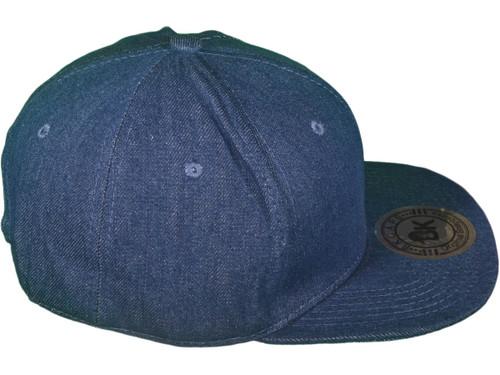 ... Flat Bill Blank Plain Snapback Hats - BK Caps Cotton With Same Color  Underbill ( e0bd60d81e26