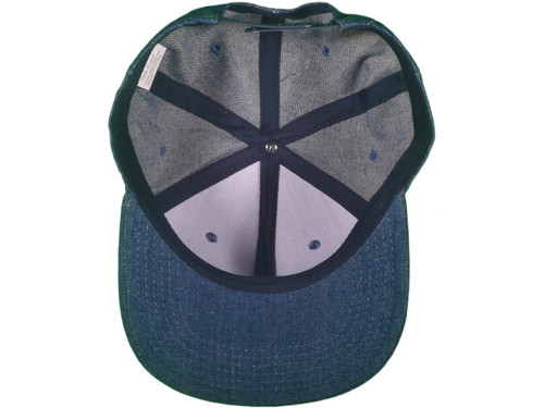 ... Flat Bill Blank Plain Snapback Hats - BK Caps Cotton With Same Color  Underbill ... 2c9240f3969