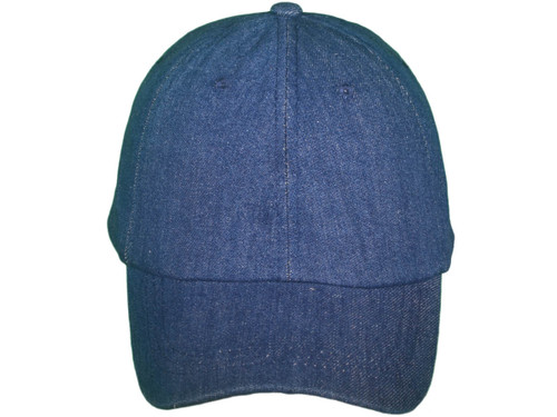 ... Blank Denim Dad Hats - Unstructured Cotton Polo Baseball with Brass  Buckle BK Caps (Navy ... 072eaee4239