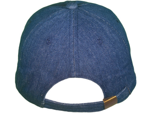 1dc9dc9ce63 ... Blank Denim Dad Hats - Unstructured Cotton Polo Baseball with Brass  Buckle BK Caps (Navy ...