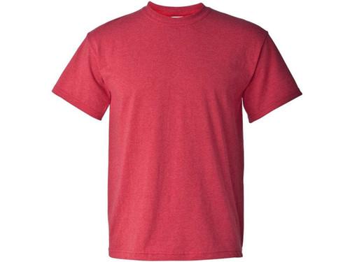 Tshirts Gildan G500 Adult Unisex 53 Oz Hd Heavy Cotton White