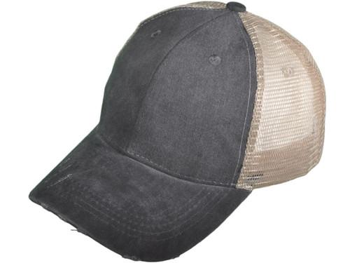 ... Vintage Mesh Trucker Hats - BK Caps Low Profile Structured Pigment-Dyed  Cotton (8 ... 36bfcf8e7d3