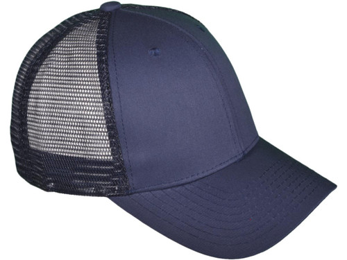 75e2f932b Blank Trucker Hats - Structured Cotton Mesh BK Caps (7 Colors Available) -  5030
