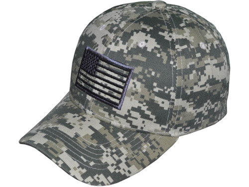 63ca20c74059b0 ... Patriotic Baseball Hats - BK Caps Embroidered USA Flag (3 Colors  Available) - 5038 ...