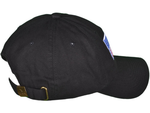 830c9b70c4bde ... Patriotic Dad Hats - Embroidered Unstructured Cotton Color USA Flag Polo  BK Caps (Black) ...