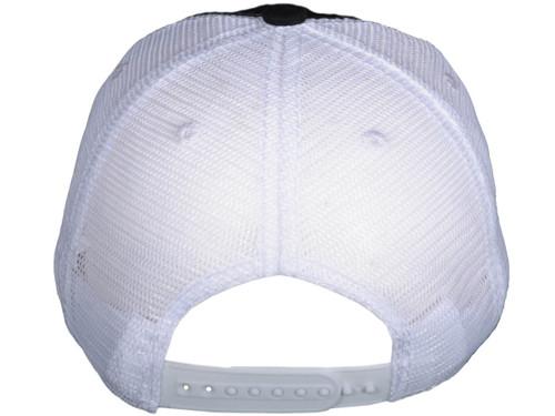 f2c5c282 ... Contrast Stitching Trucker Hats - BK Caps Low Profile 6 Panel Brushed  Cotton (Black/ ...