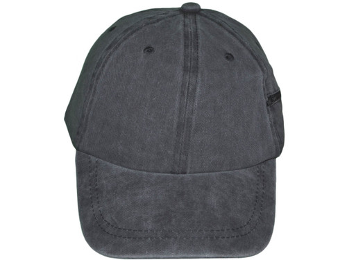 e4fba143cc1 ... Blank Dad Hats with Zipper Pocket - BK Caps Unisex Brushed Cotton Polo  Unstructured Low Profile ...