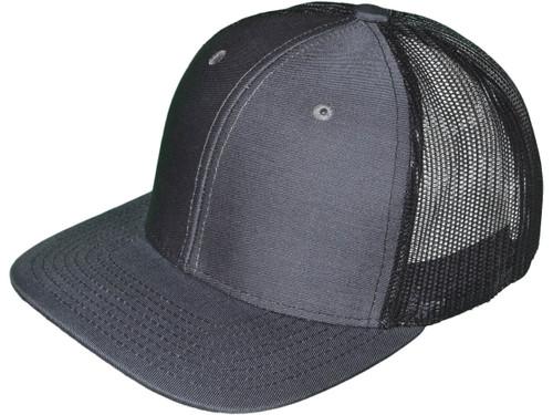f7153ad390c ... Blank Trucker Hats - 6 Panel SnapBack Mesh 2 Tone BK Caps (19 Colors)  ...