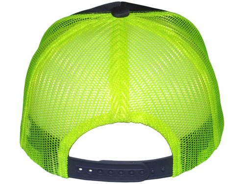 Blank Trucker Hats - 6 Panel SnapBack Mesh 2 Tone BK Caps (27 Colors) - 5216
