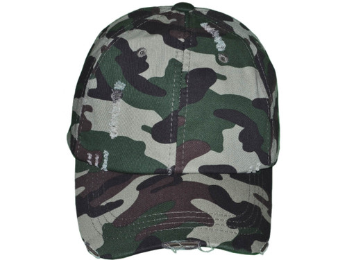2cefbb0d ... Camo Vintage Dad Hats - Low Profile Unstructured Distressed Washed  Cotton Twill Polo BK Caps Velcro ...