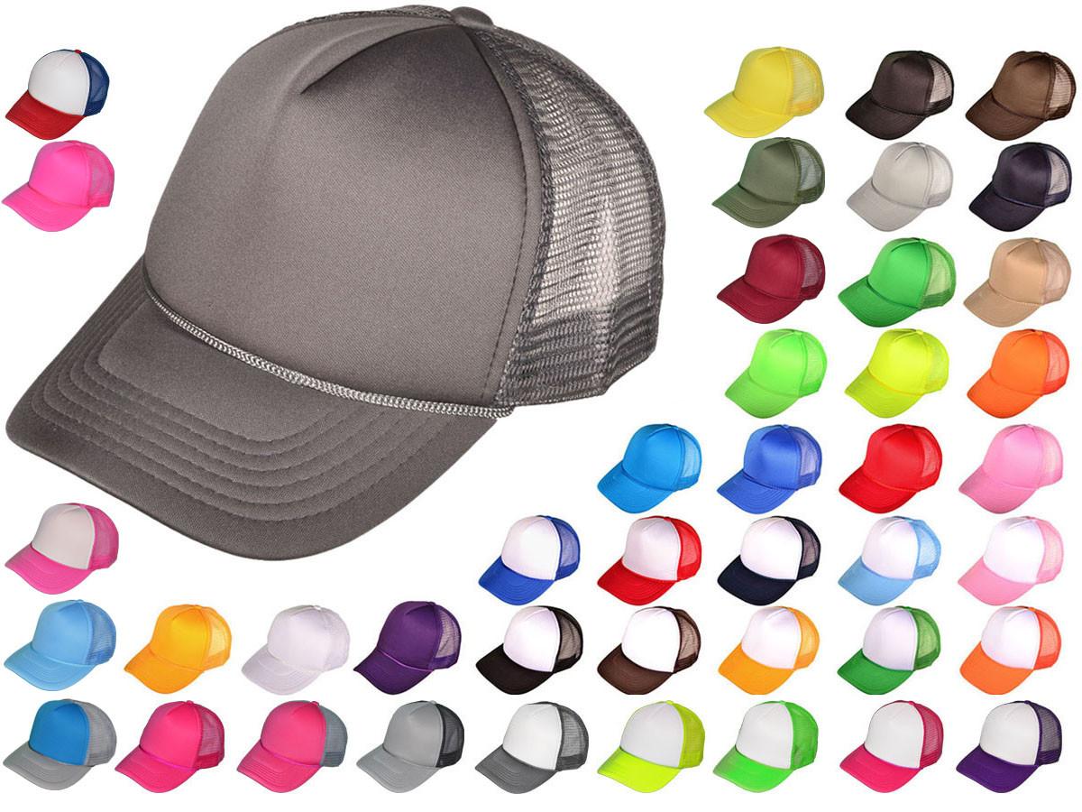 5 Panel Foam Trucker Hats - BK Caps