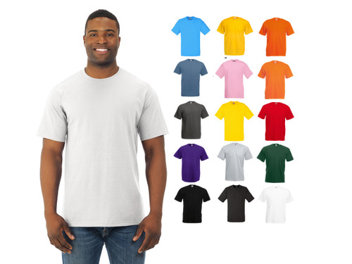 Fruit Of The Loom 3930 Adult Unisex 5 Oz Hd Cotton T