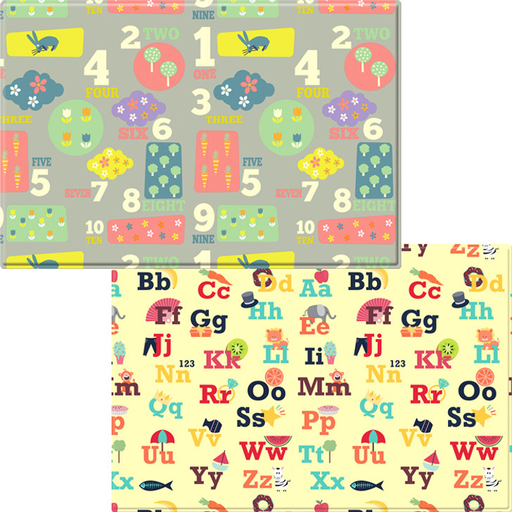 Letters and Numbers Baby Care Playmat - Medium