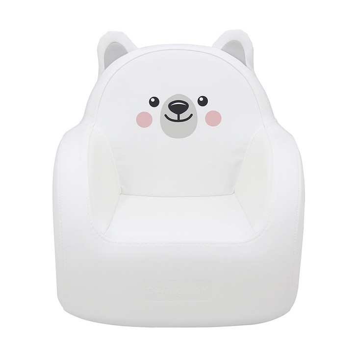 Dwinguler Soffkin Kids Sofa - Polar Bear