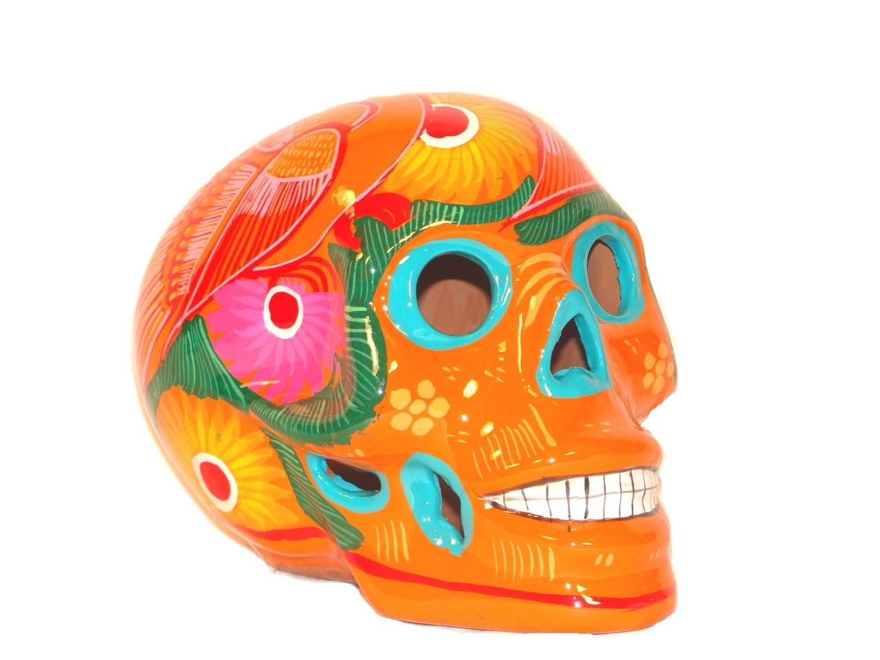 Paint Your Own Ceramic Keepsake Day of the Dead Skull Mask