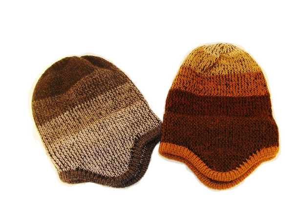Quidditch Style Child Hat Hand Knit Peru Fair Trade Soft and Light