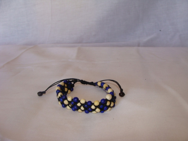 Acai Seed Bracelet Close Out Samples Adjustable Three Color